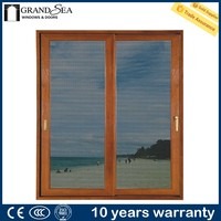 Best selling clear glass mosquito net door curtain design