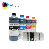 Hot !!! Quality Digital Textile Ink for Dupont ink for Epson 1390 DTG Garment Printer