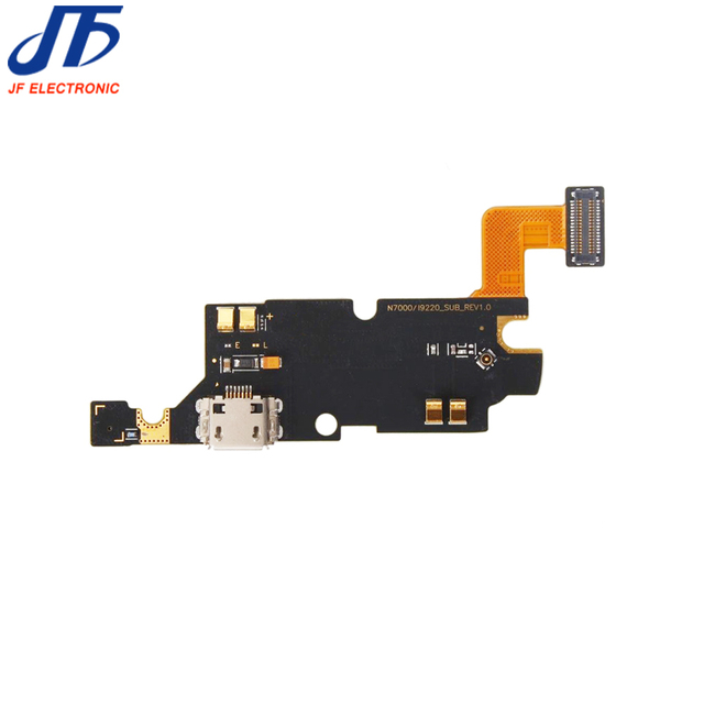 jfphoneparts For Samsung GALAXY NOTE 1 i9220 N7000 charger port Flex with Mic charger charging port dock connector flex cable