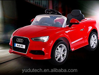 audi a3 electric ride on car double battery powered mp3 led kids vehicle with remote. Black Bedroom Furniture Sets. Home Design Ideas