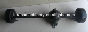 110cc gasoline engine tricycle rear axle