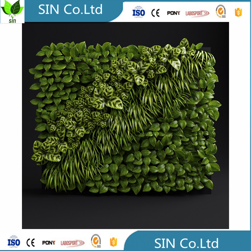 Cheap vertical High quality artificial vertical garden green wall plant outdoor green plants