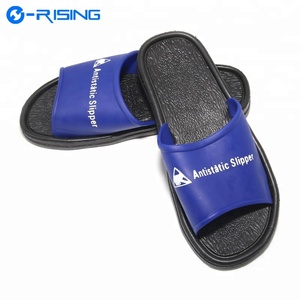 fac5271303c9 Hot Sale ESD Cleanroom Antistatic PVC Slippers