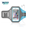 New Arrival Portable Adjustable Lycra Fabric Armband Case for iPhone 7