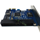PCIe to 2 Port SATA II 1 Port IDE Controller Card 7 PIN SATA Riser card with SATA Port Multiplier