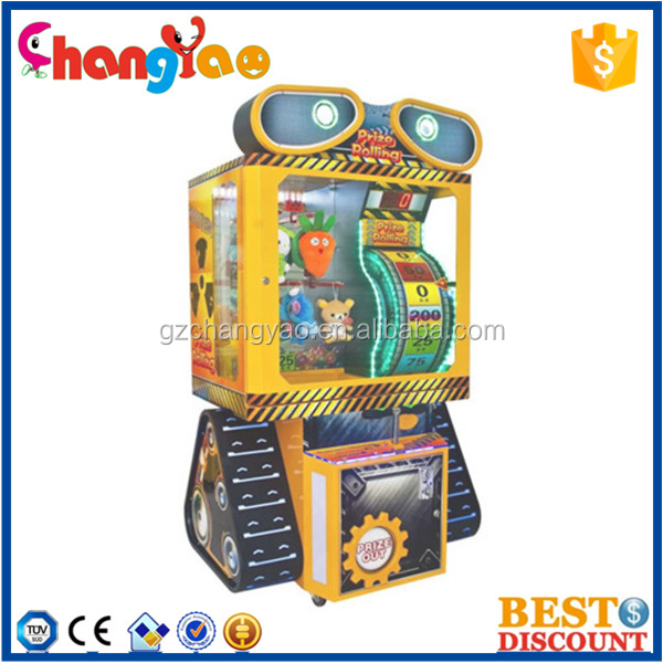 Interesting Prize Rolling Claw Gift Game Machine Simulator Machine Kit