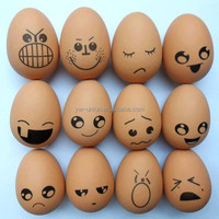 Creative emotional face egg stress ball