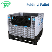 Top Quality Folding Plastic Pallet Storage Box for Seafood