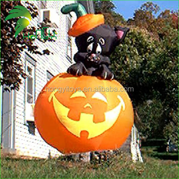 giant halloween decoration inflatable pumpkin giant halloween decoration inflatable pumpkin suppliers and manufacturers at alibabacom - Blow Up Halloween Decorations