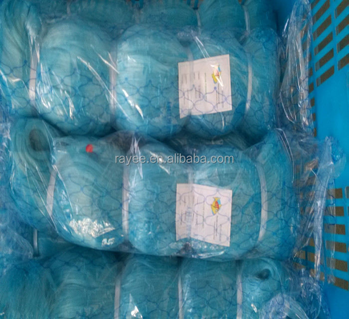 nylon monofilament fishing net-0.11mmx3cmx50MDx180m for Bangladesh market,fishing net nylon <strong>scrap</strong>