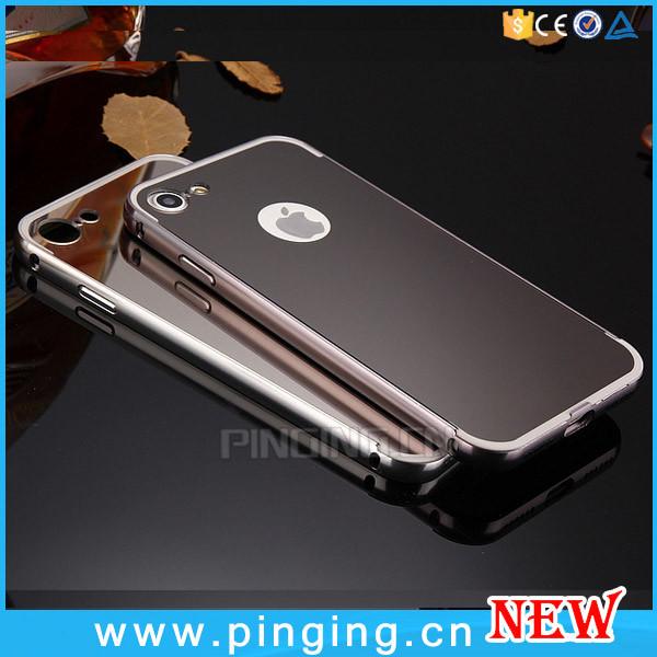 Luxe galvanoplastie pour l 39 iphone 7 miroir t l phone cas for Application miroir pour pc