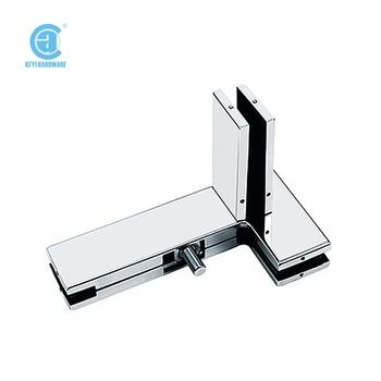 L Shape Glass Door Clamp With Finhot Sale Glass Door Hinge Clamp