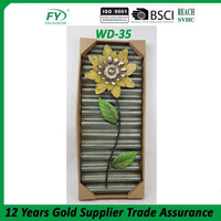 Autumn home metal flower wall hanging wall decoration WD-35