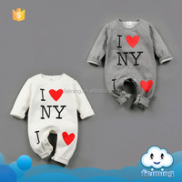 Bulk sale baby wears usd romper set custom baby romper pictures of i love new york baby romper