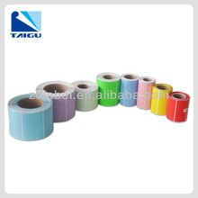 Hot sale self adhesive color label by roll factory