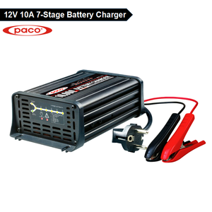 Battery charger output 110v dc 12V 10A ,7 stage automatic charging battery charger with CE,CB,RoHS certificate