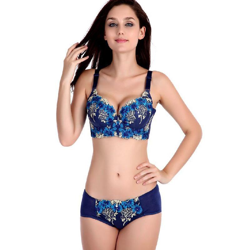 d29d63ce16d59 Get Quotations · sexy push up bra set retro lingerie underwear sets for  women ensemble sous vetement femme sexy