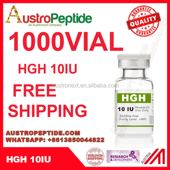 1000 Vial Hgh Growth Hormone Hgh 191aa Somatropin For Research Use Free  Shipping - Buy Hgh 10iu Hgh 100iu Hgh100iu Hgh 191aa Hgh Fragment 176-191  Hcg