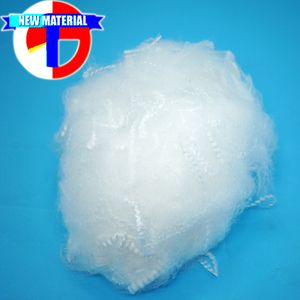 4D 51mm low melt polyester staple fiber use for bonding