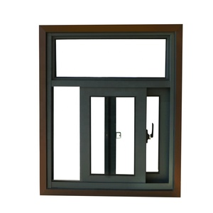 fashionable stainless steel sliding window frame for hotel