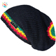 Free rasta hat crochet pattern handmade felt hats knitted beanie cap one size striped beanie custom