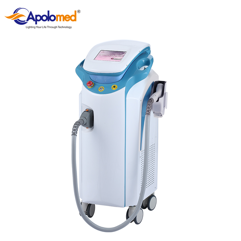 Shanghai professional 808nm diode laser hair removal machine for sale