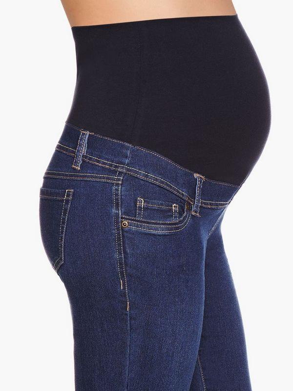 f94130af6 China mayorista mujer embarazada Jean elástico waistbang embarazadas  pantalones de Jean, embarazadas Denim Jean buers