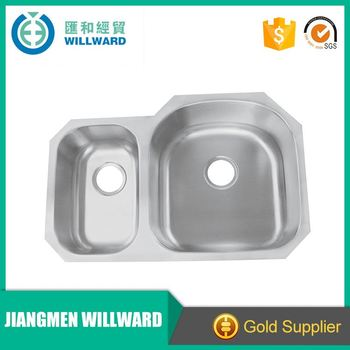 ... end best stainless steel undermount double bowl kitchen sinks brand