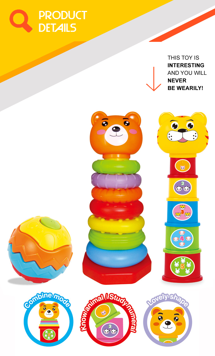 Best Selling Educational Games Stem Toys 21pcs Stack Up ...