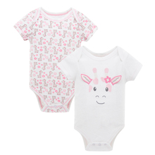 2018 2 teile/satz Neue Ankunft Sommer Baby <span class=keywords><strong>Body</strong></span> Kurzarm 100% Baumwolle Baby Kleidung Neugeborenen Baby Overall