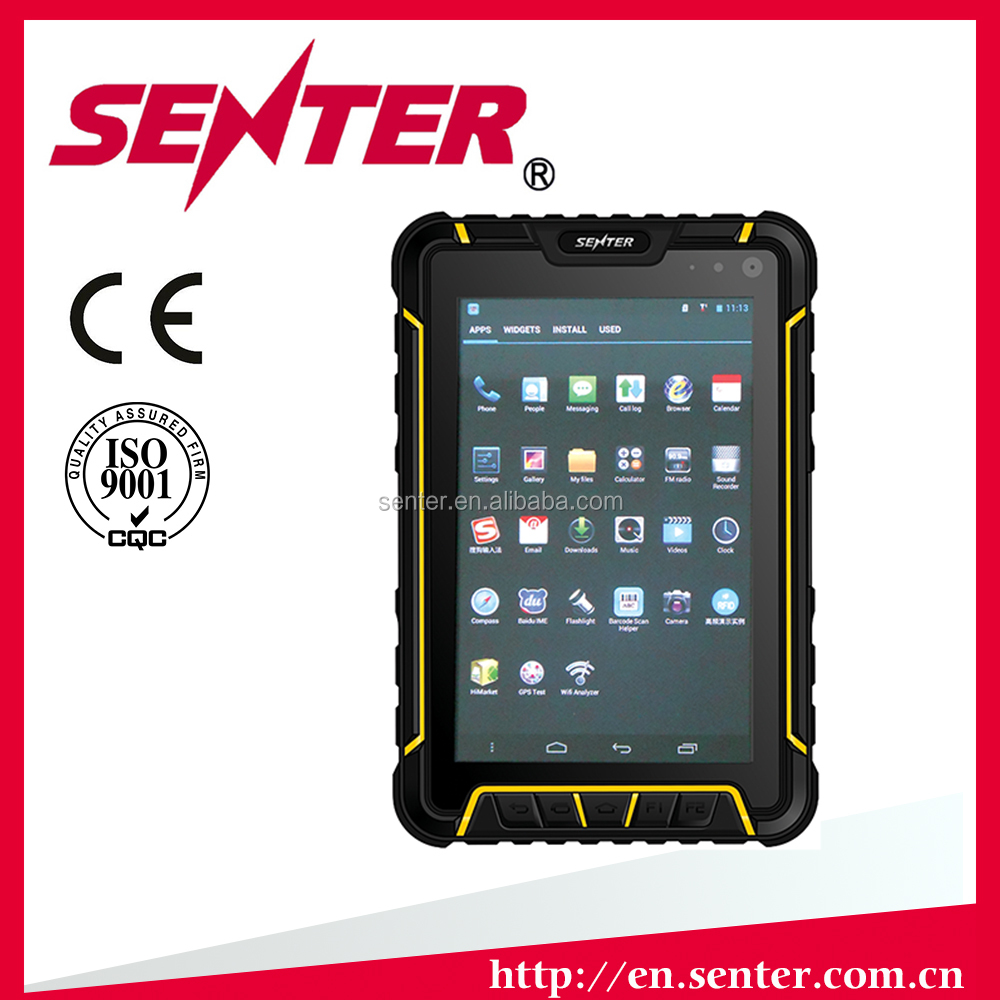 320GB Hard Drive Capacity and LCD Display Type waterproof tablet pc/Handheld RFID reader