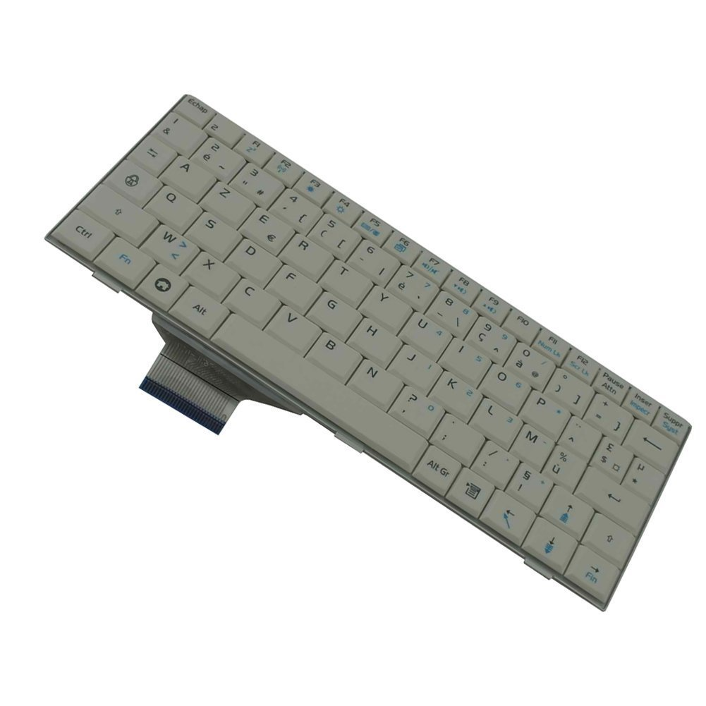 YEECHUN White FR French AZERTY Keyboard France Clavier For Asus Eee PC EPC 700 701 701SD 701SDX 702 703 900 901 900hd 900A 2G 4G 8G Series New Notebook Replacement Accessories