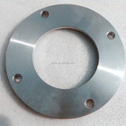 SS304 plain vacuum flanges DN80 welded type ISO1609