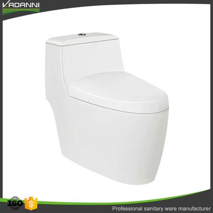 China factory wc one piece toilet for public