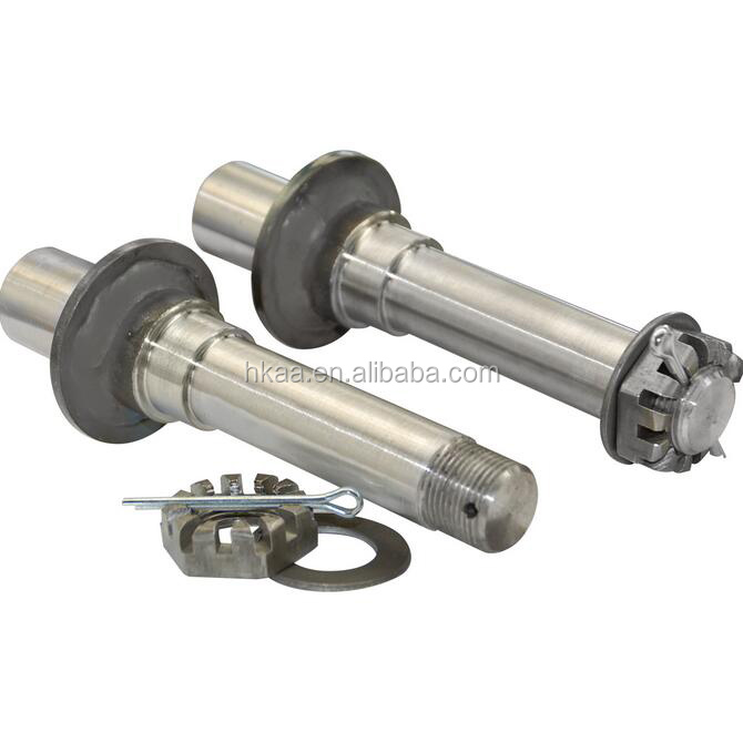 TS16949 cnc machining spindle of trailer axle spindle