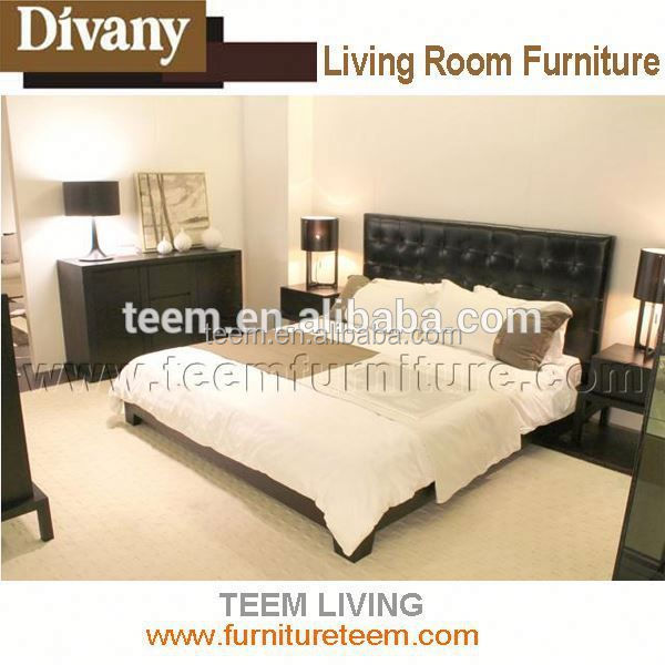 Divany modern furniture wood canopy bed