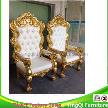 popular wedding throne king and queen chair for sale buy king