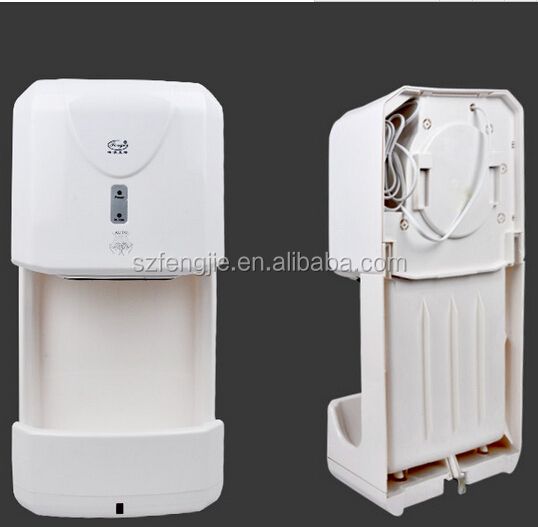 Wall mounted automatic high speed hand dryer