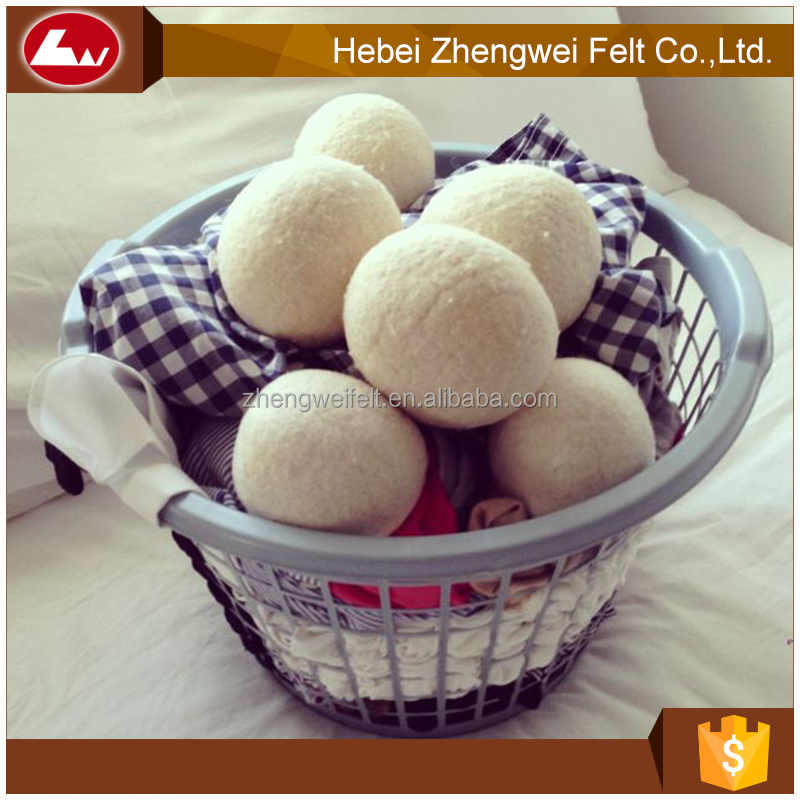 Pure Organic Wool Dryer Ball With Customer Design Package