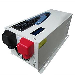 SUNGOLDPOWER 2000w Peak 6000w Pure Sine Wave Inverter Power Inverter, Solar Inverter DC 24V AC Output 110V 220V 230V 240V Converter LCD Remote Control With 35A Battery Charger.Good Quality