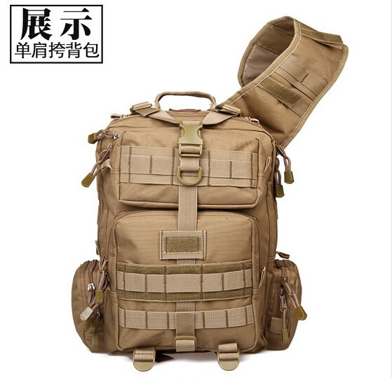1000D New Arrival Army Green Outdoor Hiking Chest Bag shoulder bag