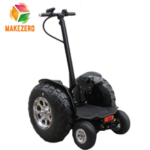 1000w off road cheap 4 wheel electric chariot slef balancing scooter with big wheel and small wheel for golf option