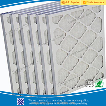 merv 8 allergen air furnace filters 16x25x1 with paper frame ...