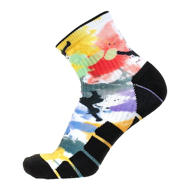 Popular transfer logo winter crew socks