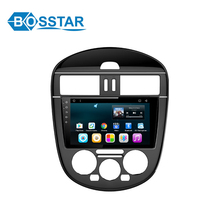 Bosstar android 6.0 car mp5 player manual for NISSAN1TIIDA 2014~2015 with gps navigation system