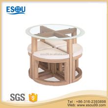 Elegant and New Design Cheap Wooden Dining Room Table Set