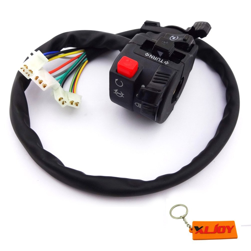 Buy Xljoy 11 Wire Chinese Atv Handle Switch Control Choke Lever For 200cc Diagram 50cc 110cc 125cc 150cc