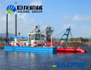 High efficiency river and lake sand dredging machine /river sand dredger/river sand pump dredger