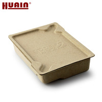 disposable molded paper pulp custom gift box packaging