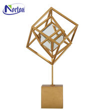 Abstract decor outdoor square statue stainless steel sculpture NTST-018Z